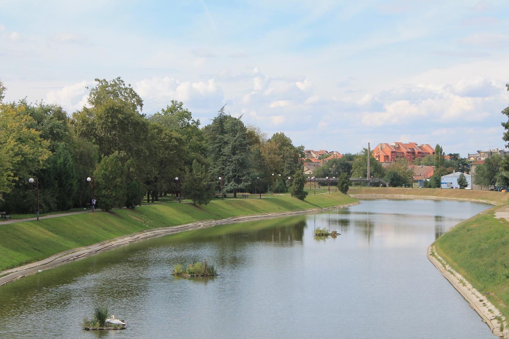 Jezero u centru Zrenjanina