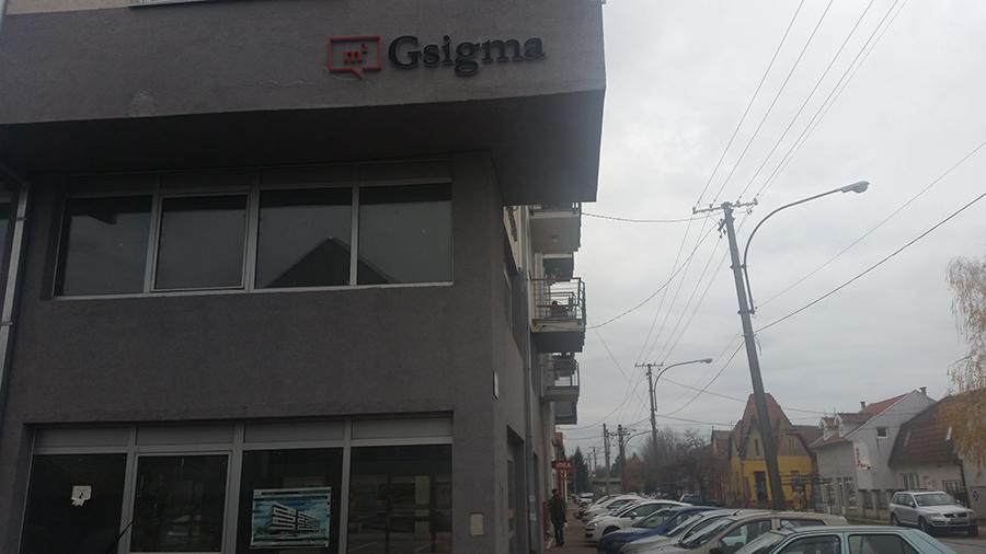 Gsigma, zgrada u Vojvode Bojovica
